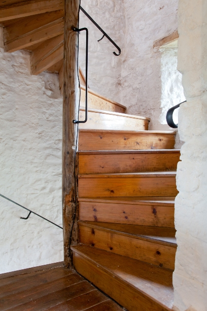 then the Wooden Stairs